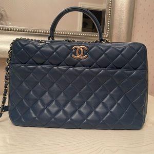 Chanel trendy bowling bag
